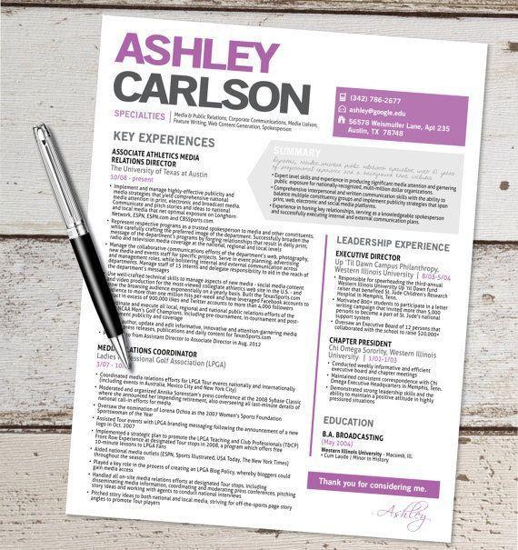 36 best resume templates images on Pinterest | Resume ideas ...