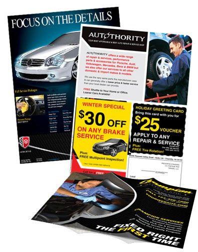 Automotive Flyer Printing - Car Dealership Flyers - Direct Mail ...