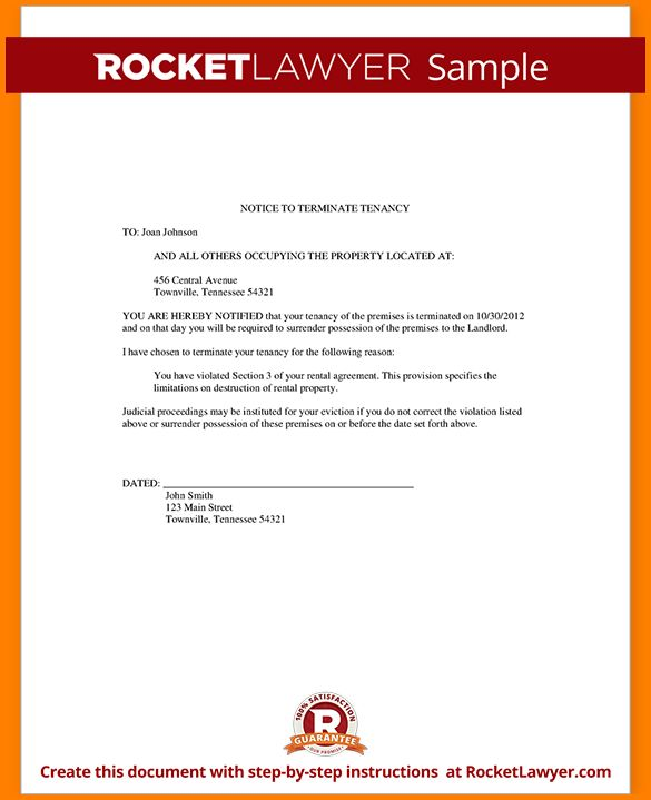 400518 letter of eviction sample sample eviction notice. blank ...