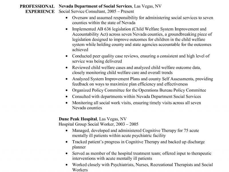 Joyous Social Work Resume Examples 3 Social Worker Resume Sample ...