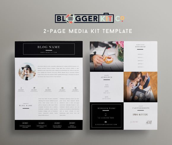 28 best Media/Press Kit Templates images on Pinterest | Press kit ...