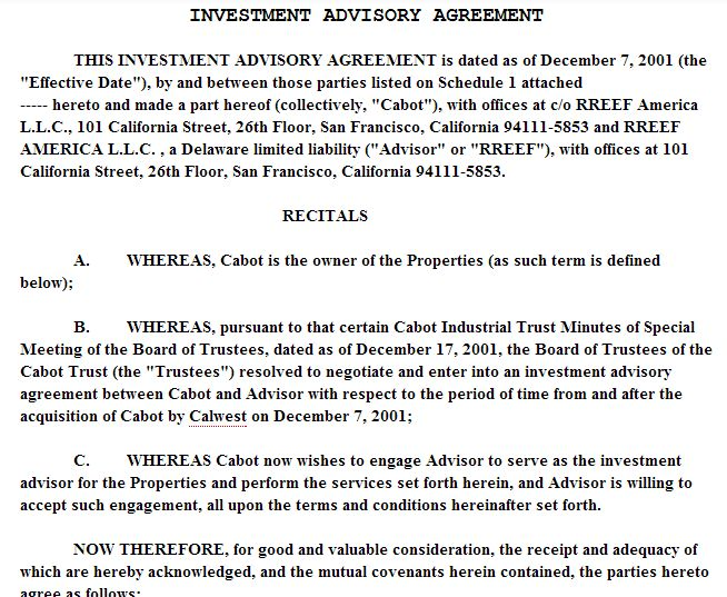 Sample Investment Agreement Contract | Sample Cover Letter For Job ...