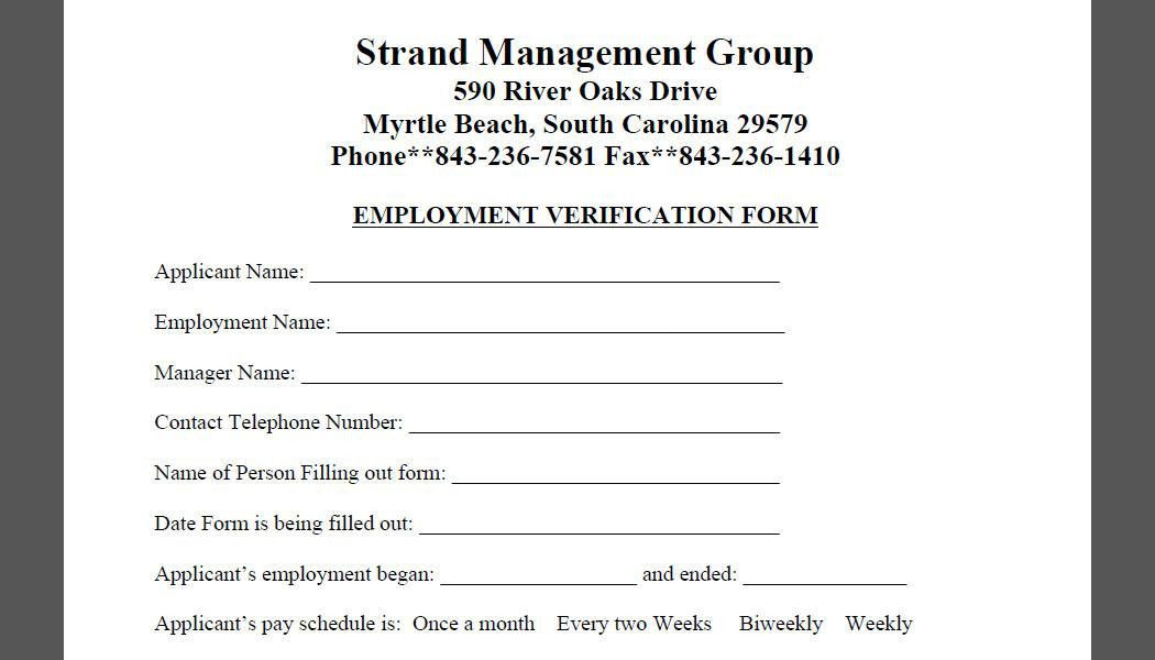 Document Downloads | Strand Management