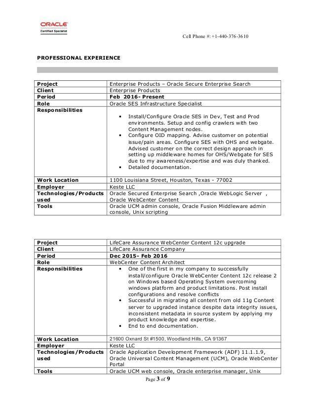 Resume - Sriram Venkata
