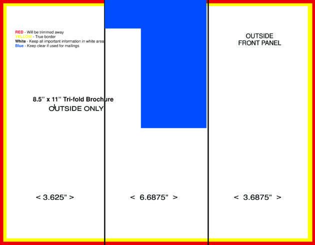 Other Templates: Blank Histogram Template. Blank Tri Fold Brochure ...