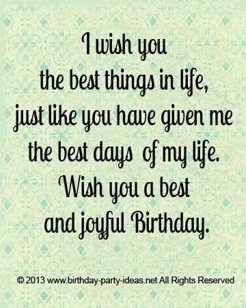 7 best Happy birthday quotes 4 your love one images on Pinterest ...