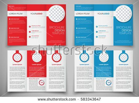 Tri Fold Brochure Template Stock Images, Royalty-Free Images ...