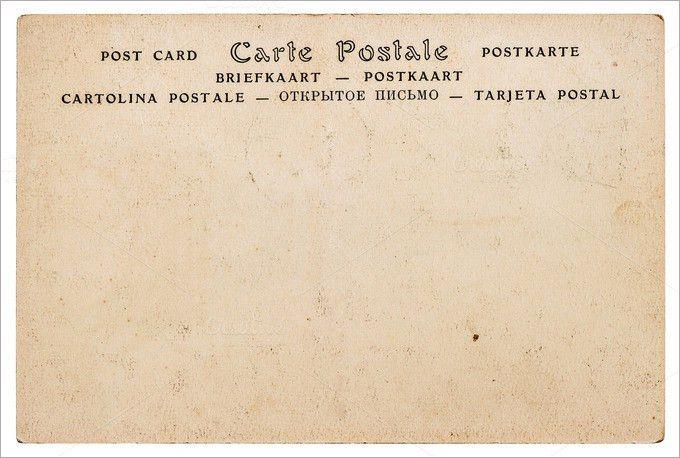 Blank Postcard Template | Free & Premium Templates