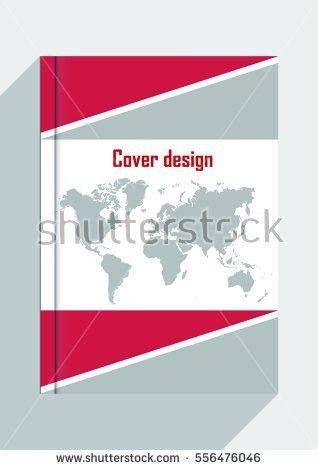 Abstract Green Annual Report Cover Template Stock Vector 559920106 ...