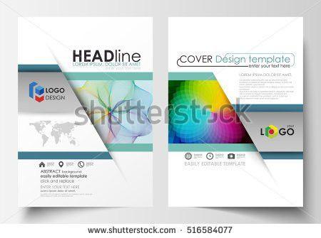 Green Annual Report Brochure Flyer Design Stock Vector 400689331 ...