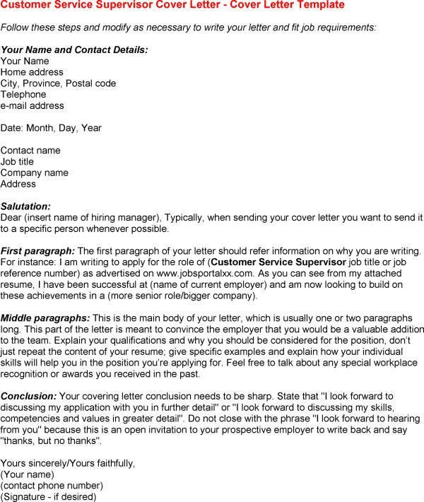 how to write a prospective cover letters