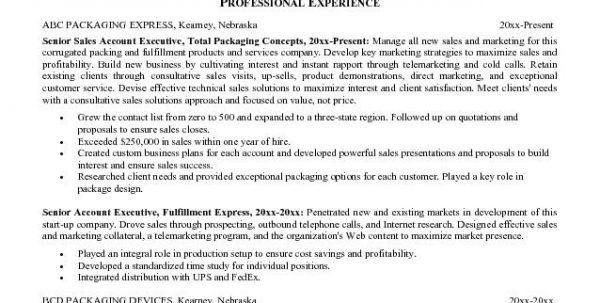 Outside Sales Resume Examples Auto Parts Sales Resume Sales Resume ...