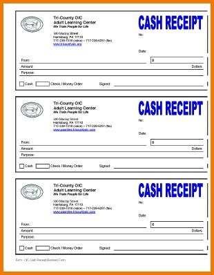 8+ blank receipt form | Expense Report