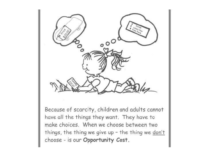 Economics: Opportunity Cost and Scarcity