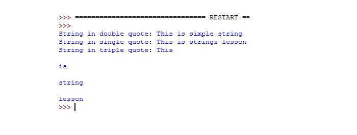 Quickly learn Python strings with 3 examples | Tutorials Collection