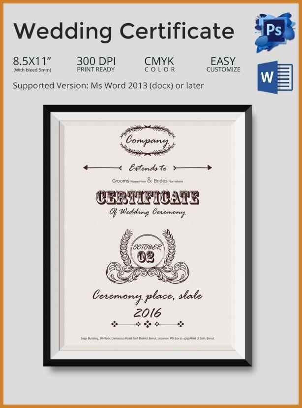 custom certificate template | notary letter