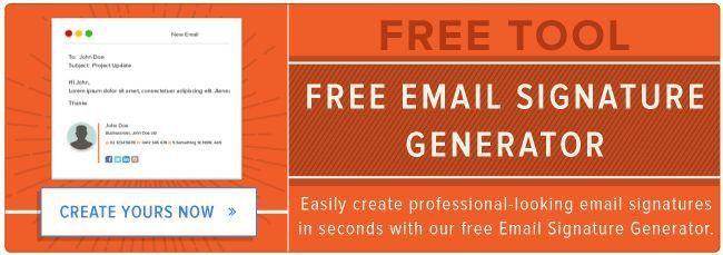 25+ best Signature generator ideas on Pinterest | Email signature ...