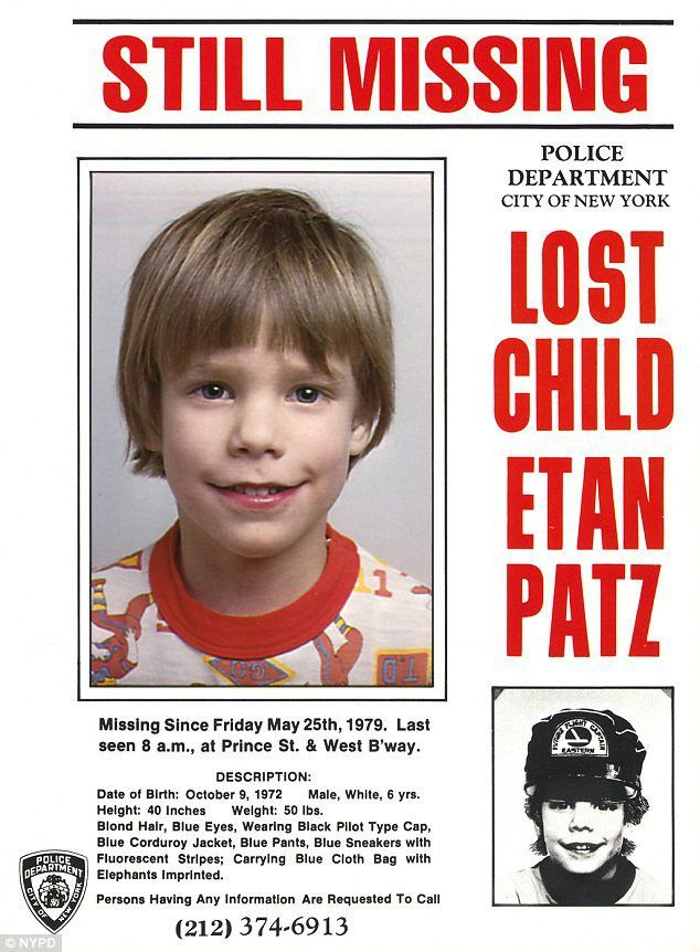 Man who 'confessed to killing missing child Etan Patz' will today ...