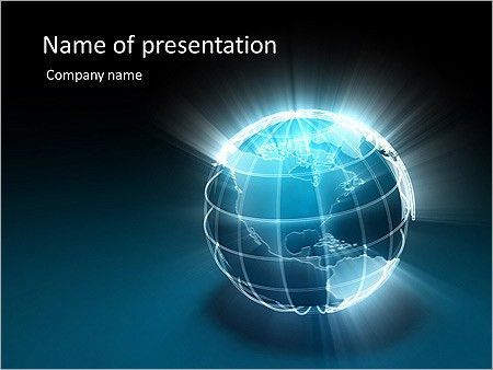 Sunny Earth Animated PowerPoint Template & Design ID 0000003067 ...
