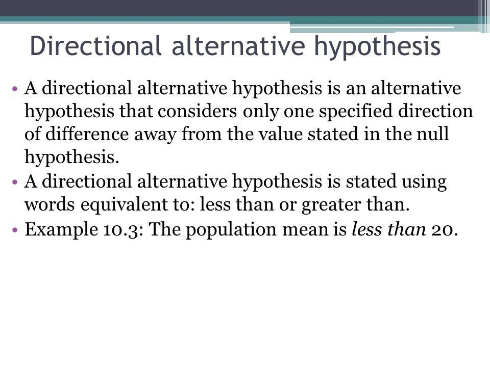 Introduction to Hypothesis Testing Chapter 10. What is a ...
