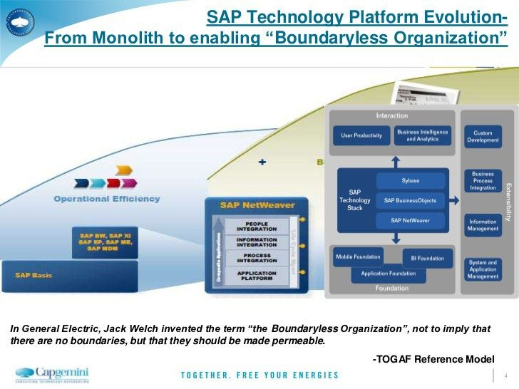 SAP technology roadmap- 2012 Update