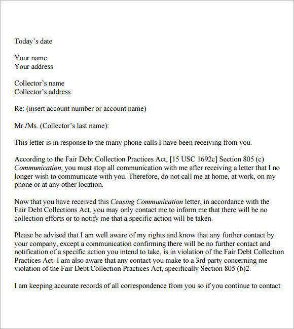 cease and desist letter template | Marketing, Networking ...