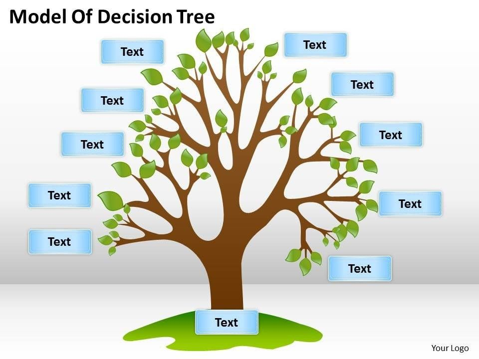 tree diagram powerpoint and keynote template is a creative take on ...
