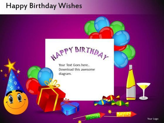 birthday card powerpoint template awesome greeting card templates ...