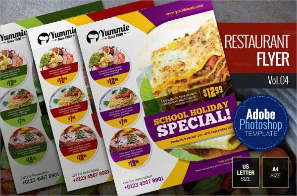 Restaurant Flyer - 20+ Download In Vector EPS, PSD
