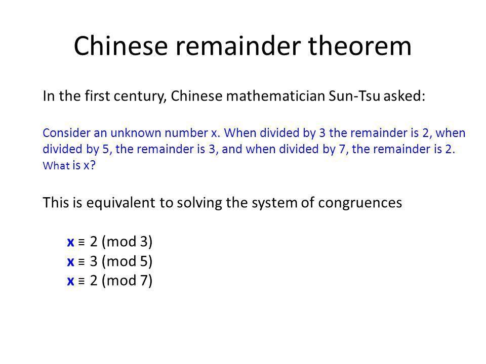 22C:19 Discrete Math Integers and Modular Arithmetic Fall 2010 ...