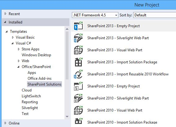 Visual Studio 2015: Missing SharePoint 2016 Project Template ...