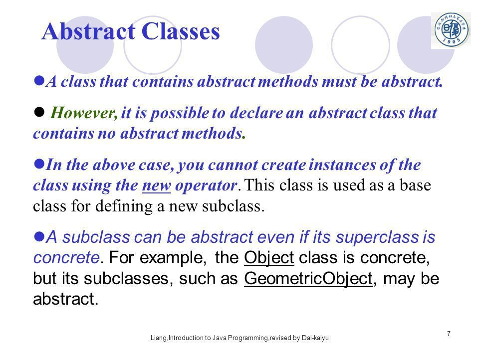 Chapter 9 Abstract Classes and Interfaces - ppt download