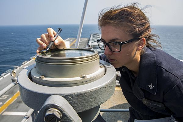 Intelligence Specialist 3rd Class Kaitlyn Smiddy, a Ship's ...