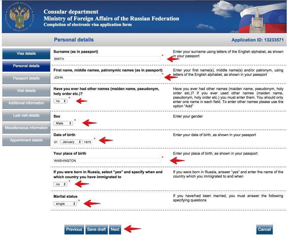 Russian visa application form in dubai development-innovations.com