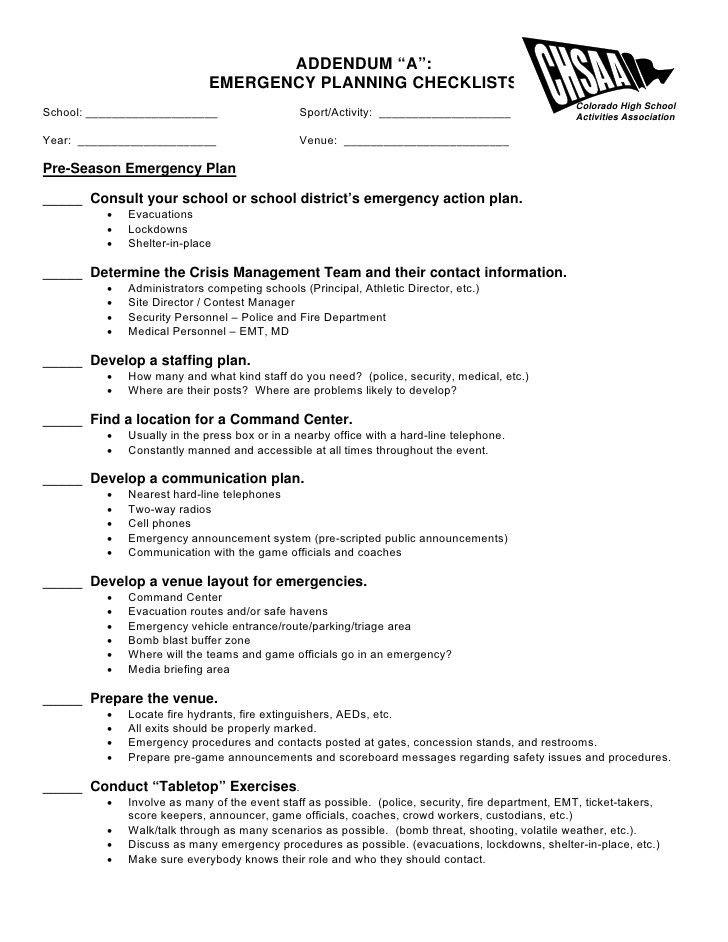 School Action Plan Template - Contegri.com