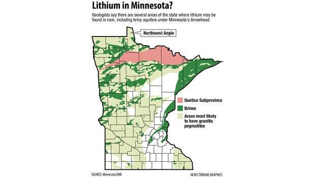 Minnesota DNR looking for lithium | Duluth News Tribune