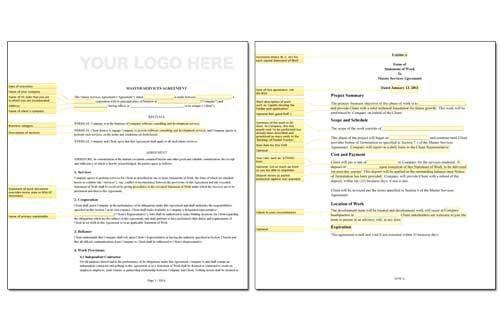 Obie Fernandez: Master Service Agreement (MSA) and Statement of ...