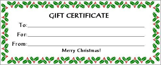 red - printable gift certificate | * p r i n t t h i s ...
