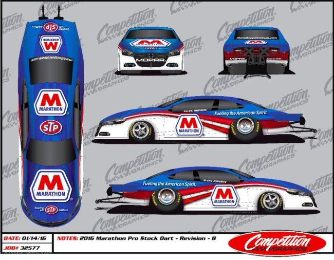 NHRA champion Johnson, Marathon Petroleum announce sponsor ...