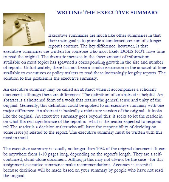 43+ Free Executive Summary Templates in Word Excel PDF
