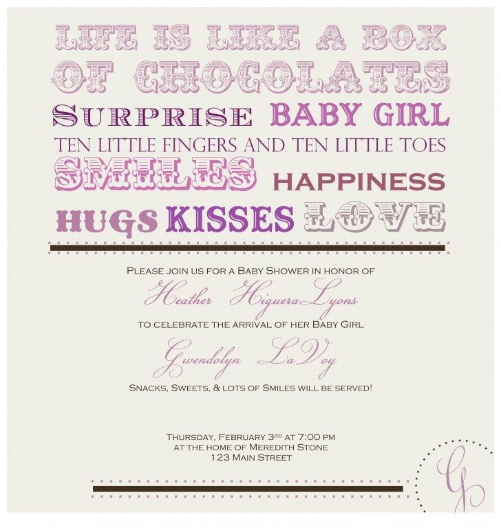 Photo : Printable Bridal Shower Invitations Canada Image