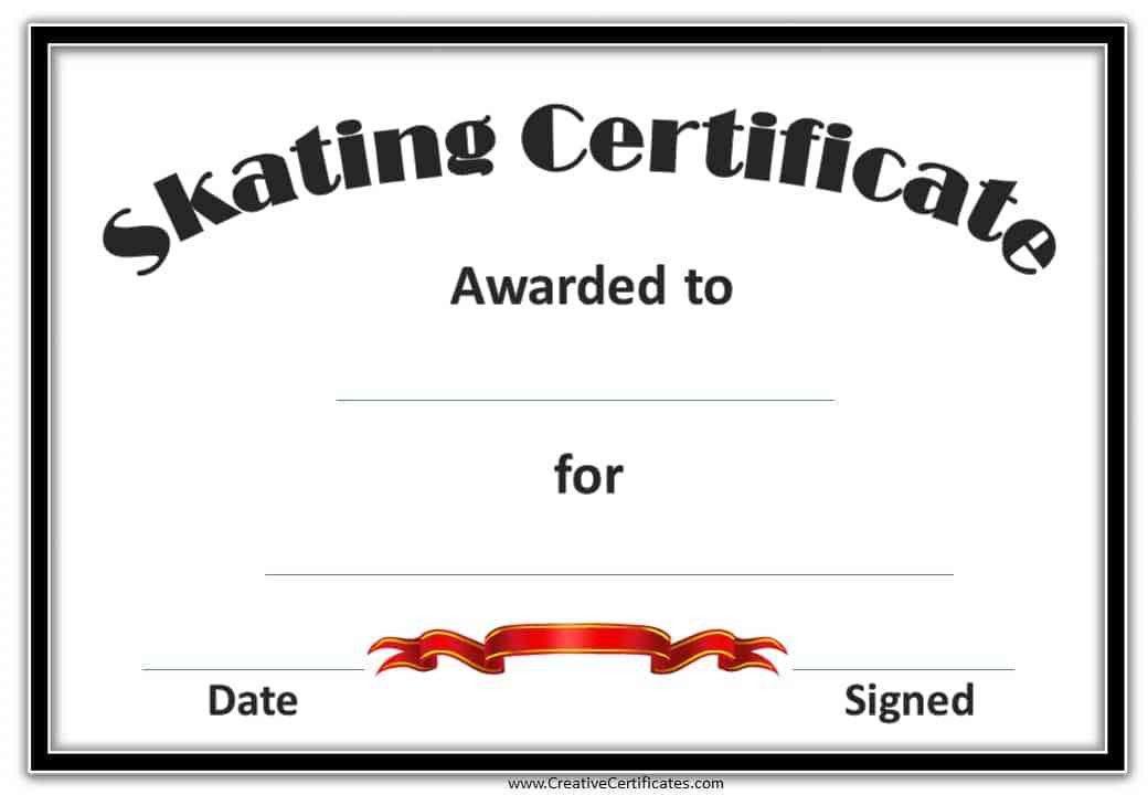 Skating Award