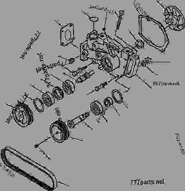 F2 - INCLUDED IN MAJOR WATER PUMP REPAIR KIT - Komatsu spare part ...