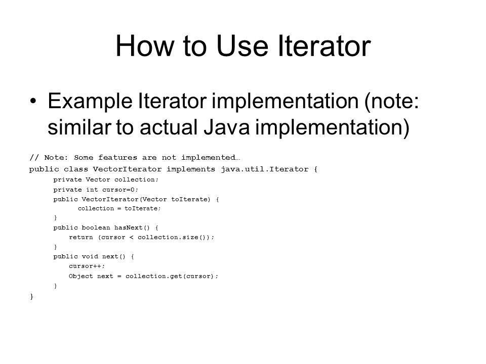 What is Iterator Category: Behavioral Generic Way to Traverse ...