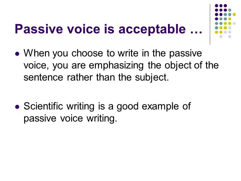 Active vs. Passive Voice - ppt video online download