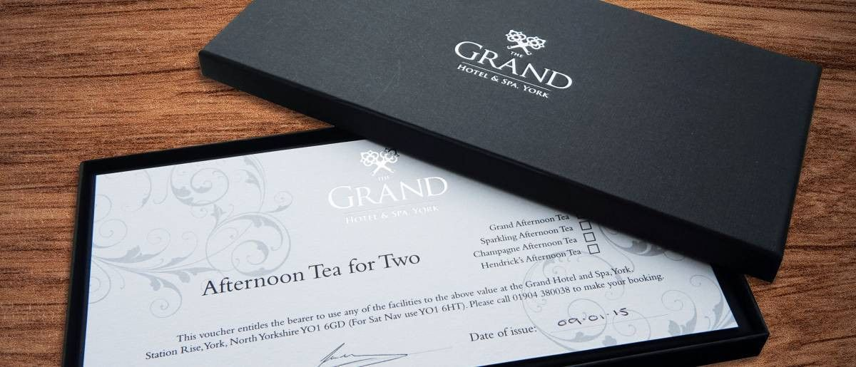 Gift Vouchers & Gift Ideas | The Grand Hotel York