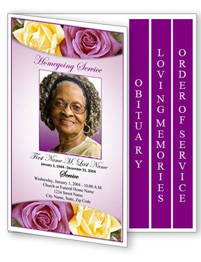 funeral program templates Archives - Funeral Programs Blog