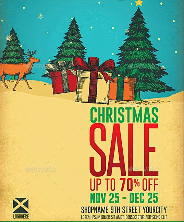 30+ Christmas Flyer Templates - PSD, Vector Format Download | Free ...