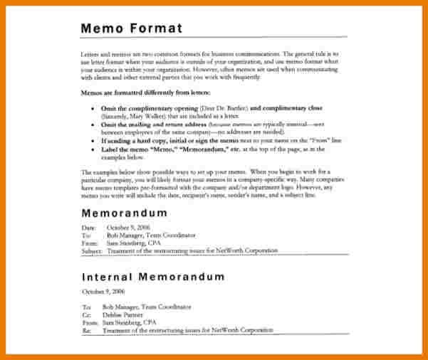 9+ memo format word | assistant cover letter