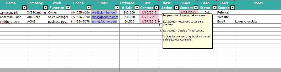 5+ Excel Customer Relationship Management Template | Template124